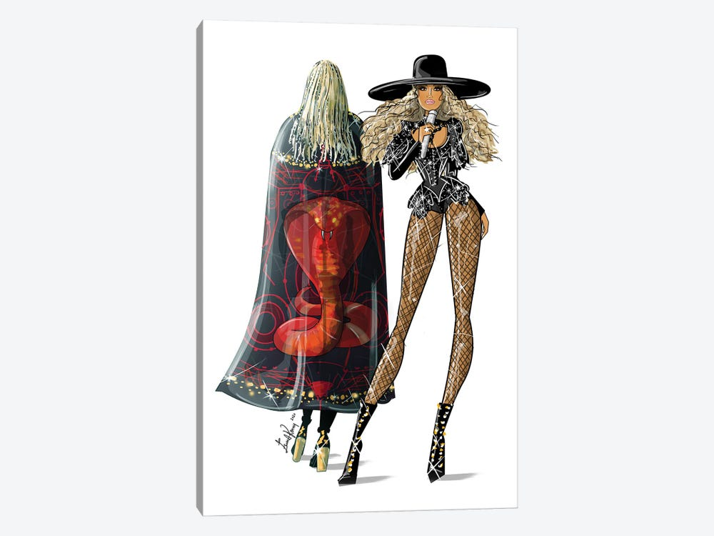 Beyonce, Formation by Emma Kenny 1-piece Canvas Wall Art