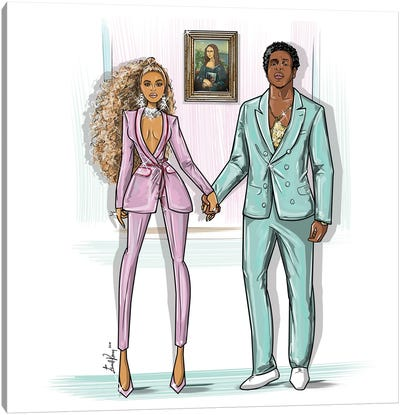 Beyonce And Jay-Z, Love Is Everything Canvas Art Print