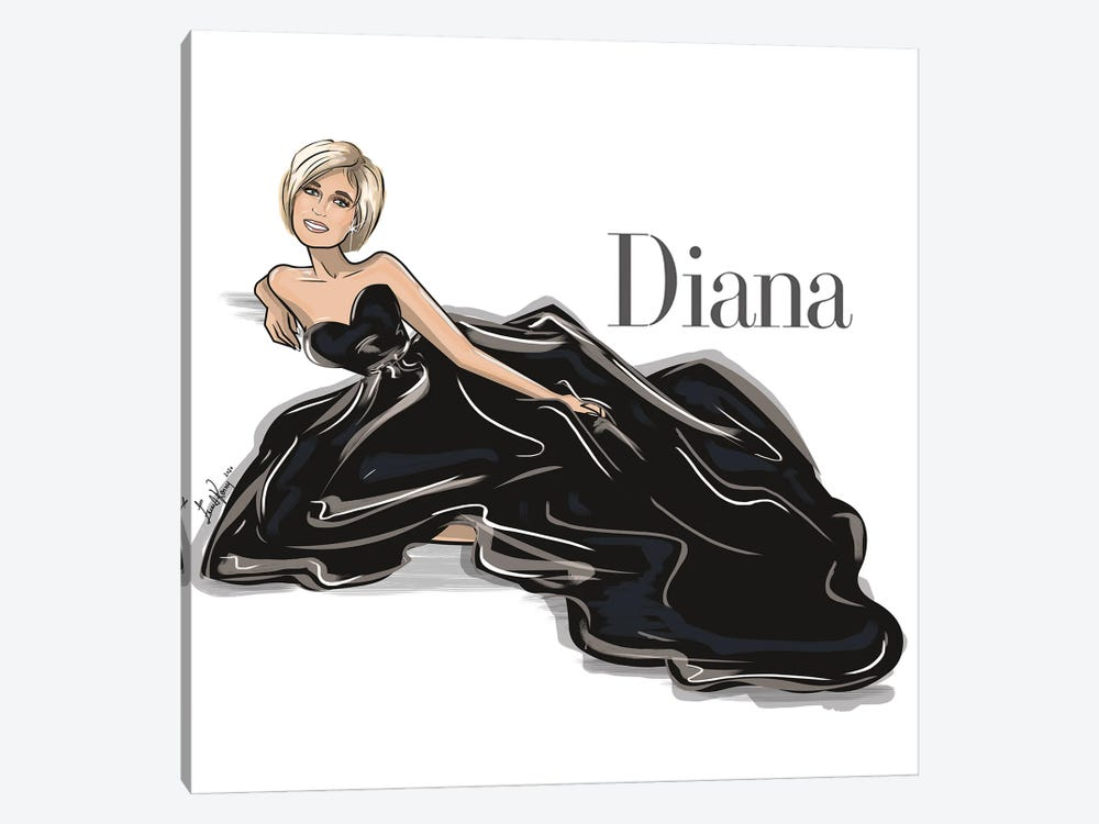 Diana by Emma Kenny 1-piece Canvas Art Print
