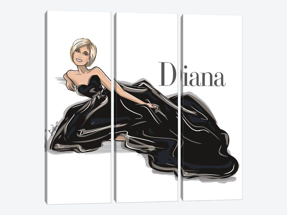 Diana by Emma Kenny 3-piece Canvas Print