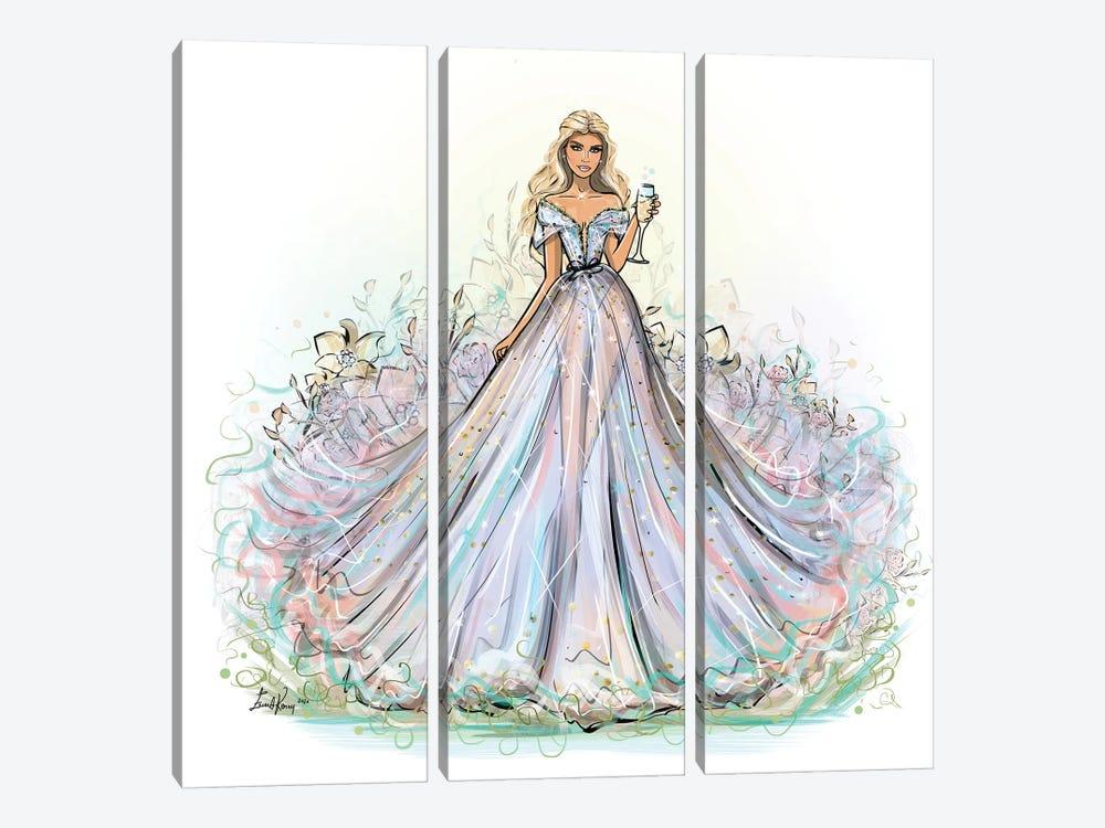 Stella Maxwell by Emma Kenny 3-piece Canvas Art
