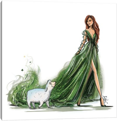 St Patricks Day Canvas Art Print