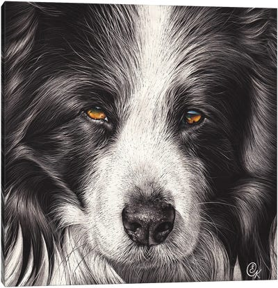 Loyal Companion Canvas Art Print