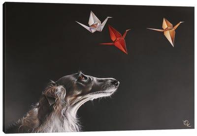 Birdwatching Canvas Art Print