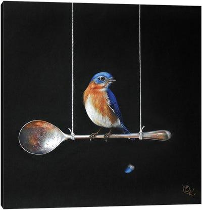 Spoon Perch Canvas Art Print