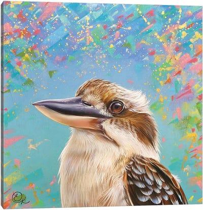 Happy Kooka Canvas Art Print