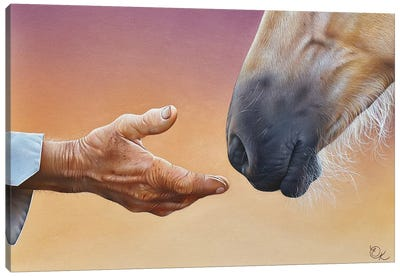 Trust Canvas Art Print