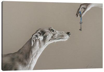 The Key Of Sincerity Canvas Art Print