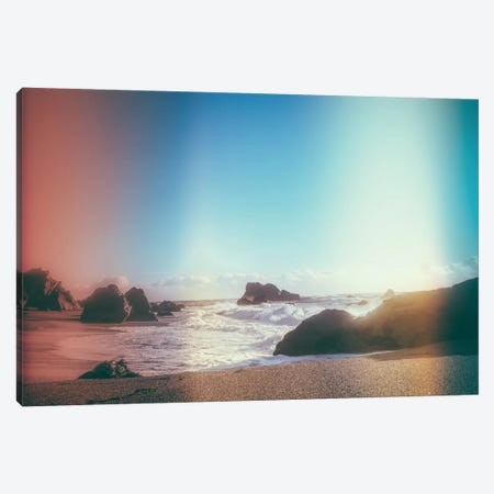 California Coastline Sunshine Canvas Print #EKU11} by Elena Kulikova Canvas Art