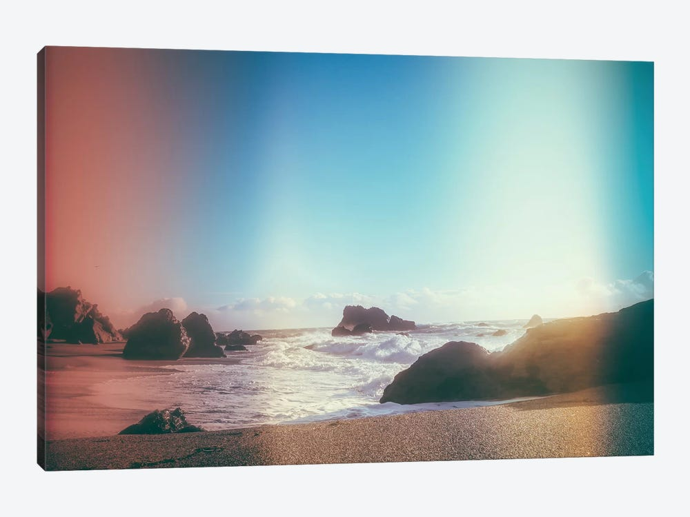 California Coastline Sunshine 1-piece Canvas Artwork