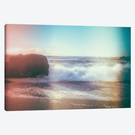 California Sunshine Waves Canvas Print #EKU15} by Elena Kulikova Canvas Print