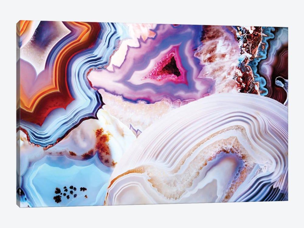 A Vivid Metamorphic Rock On Fire by Elena Kulikova 1-piece Canvas Art