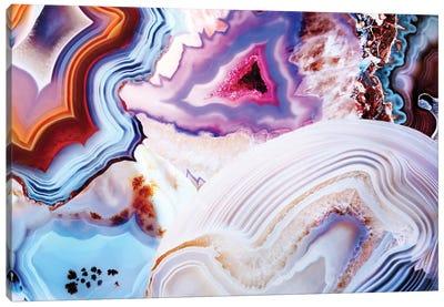 A Vivid Metamorphic Rock On Fire Canvas Art Print