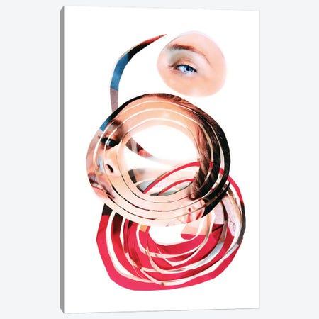 Eye Might Canvas Print #EKU32} by Elena Kulikova Canvas Wall Art