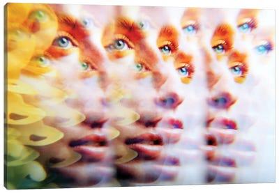 Eyes Like Butterfields Canvas Art Print