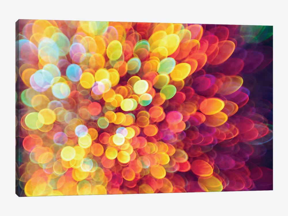 Ligth And Shimmer Burst by Elena Kulikova 1-piece Canvas Artwork