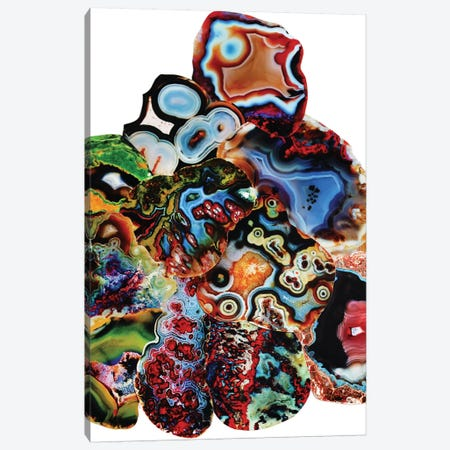 Metamorphic Layers Of Earth Canvas Print #EKU50} by Elena Kulikova Canvas Artwork