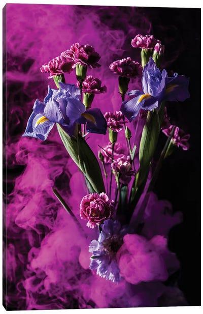 Smoky Bouquet Canvas Art Print
