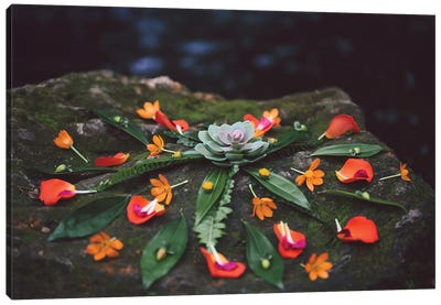 Floral Mandala Canvas Art Print