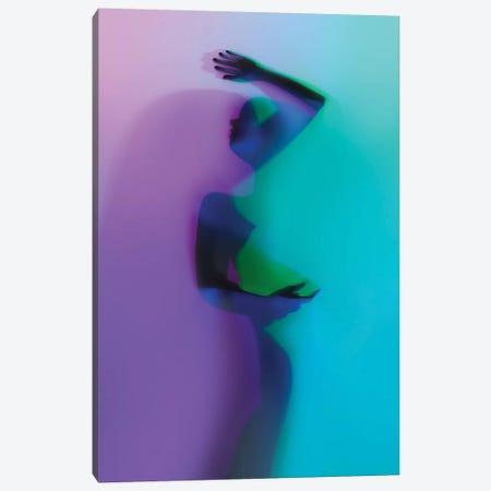 Rainbow Lover I 3-Piece Canvas #EKU93} by Elena Kulikova Canvas Artwork