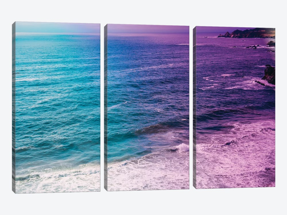 The Ocean Has Emotions 3-piece Canvas Art