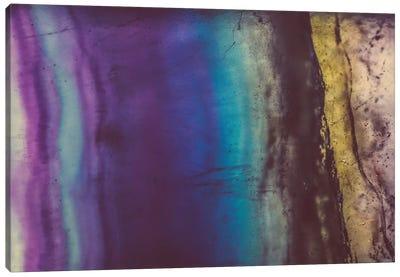 Blue Violet Fluorite Canvas Print #EKU9