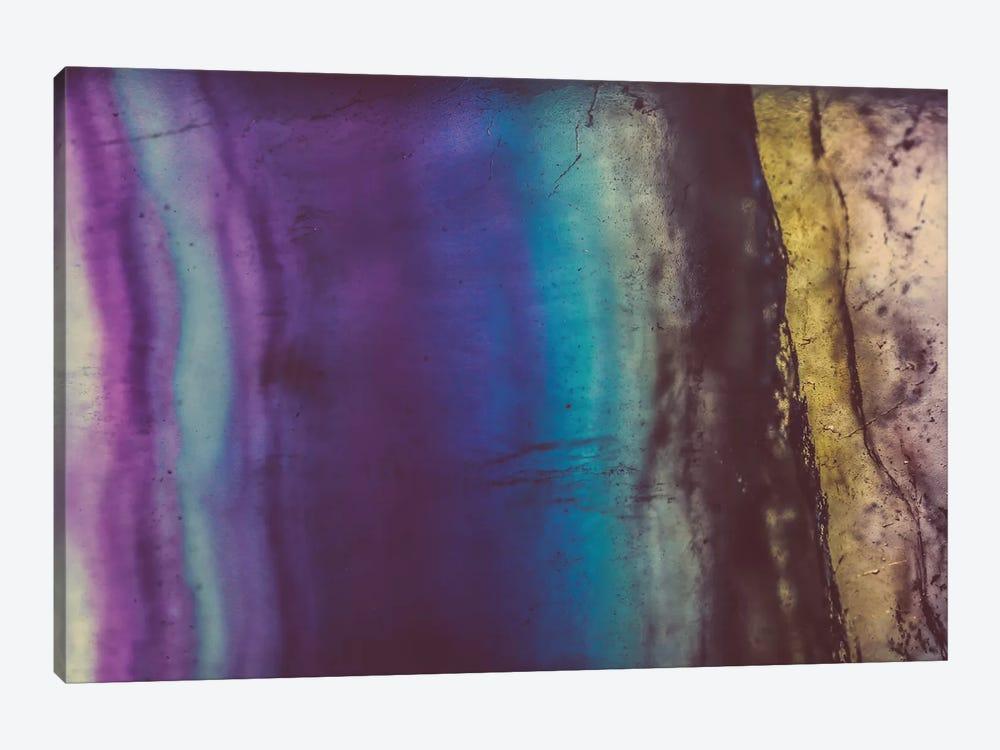 Blue Violet Fluorite by Elena Kulikova 1-piece Canvas Artwork