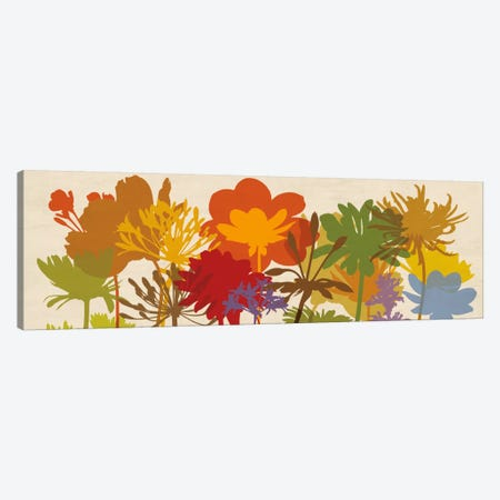 Brilliant Bloom Canvas Print #ELA10} by Erin Lange Canvas Art Print