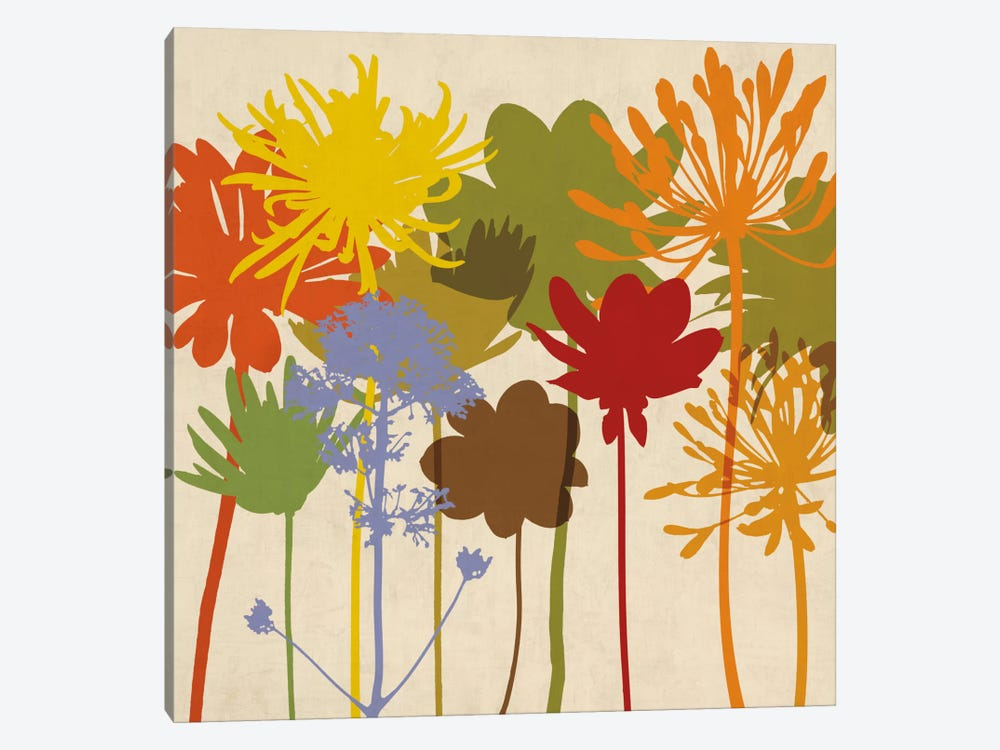 Colorful Bloom I by Erin Lange 1-piece Canvas Print