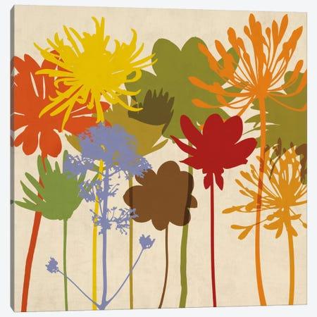 Colorful Bloom I Canvas Print #ELA12} by Erin Lange Art Print