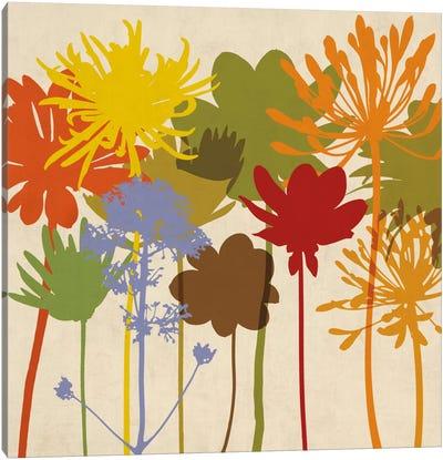 Colorful Bloom I Canvas Art Print