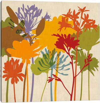 Colorful Bloom II Canvas Art Print