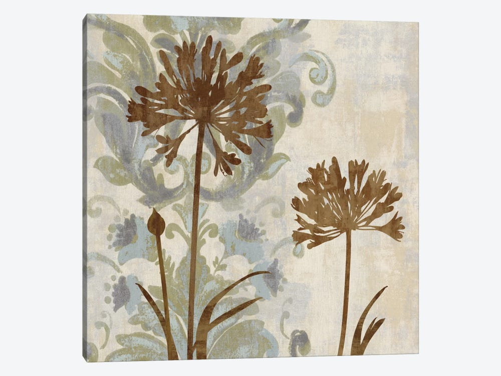 Floral Oasis I by Erin Lange 1-piece Canvas Wall Art