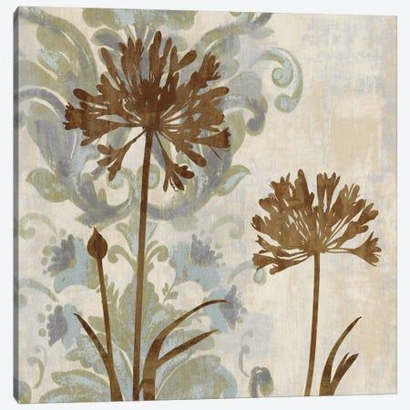 Floral Oasis I Canvas Print #ELA22} by Erin Lange Canvas Artwork