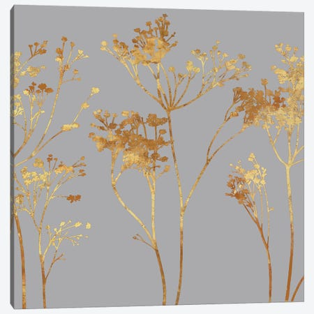Gold At Dusk I Canvas Print #ELA28} by Erin Lange Canvas Wall Art