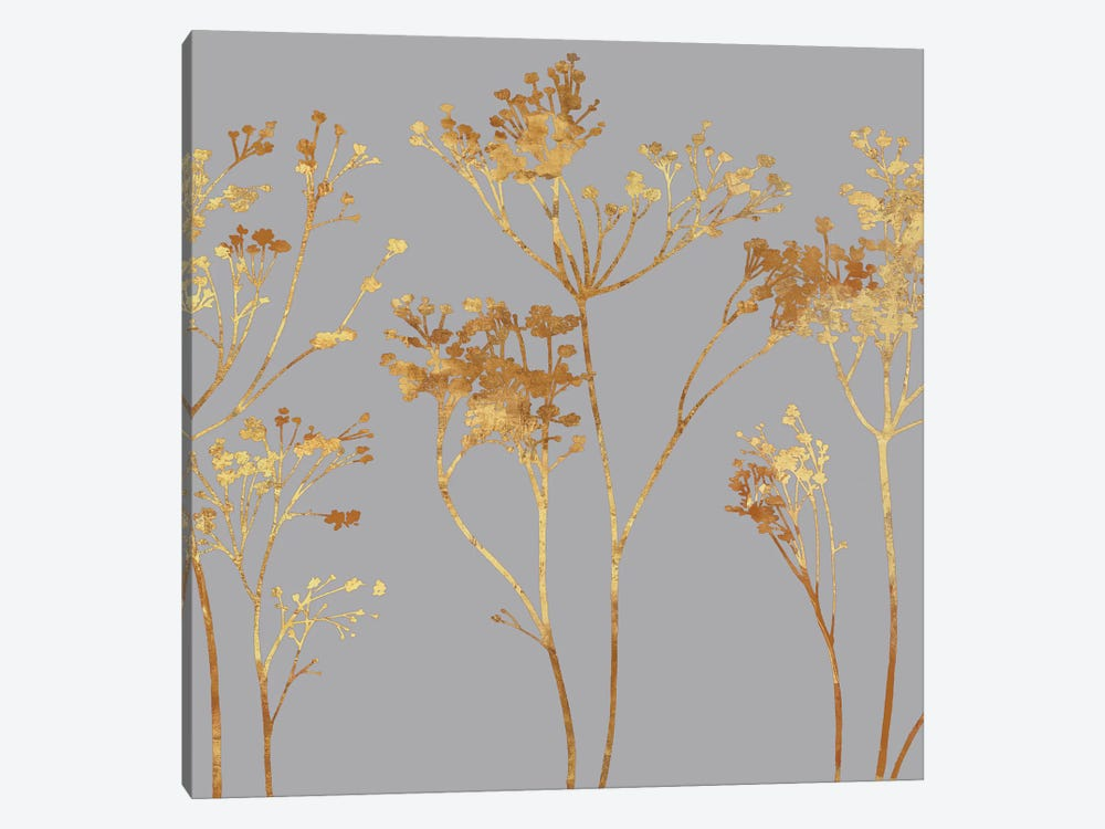 Gold At Dusk I by Erin Lange 1-piece Canvas Art