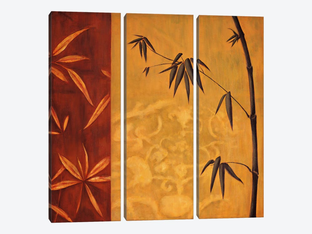 Bali II by Erin Lange 3-piece Canvas Art