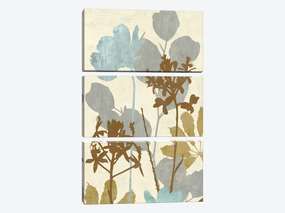 Peaceful Garden I by Erin Lange 3-piece Canvas Print