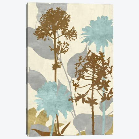 Peaceful Garden II Canvas Print #ELA59} by Erin Lange Art Print