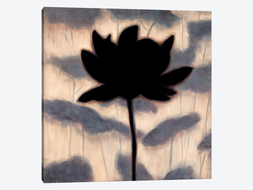 Blossom Silhouette I by Erin Lange 1-piece Art Print