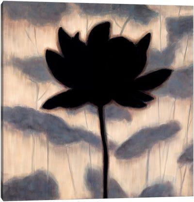 Blossom Silhouette I Canvas Art Print