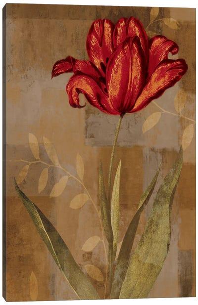 Red Impression I Canvas Art Print