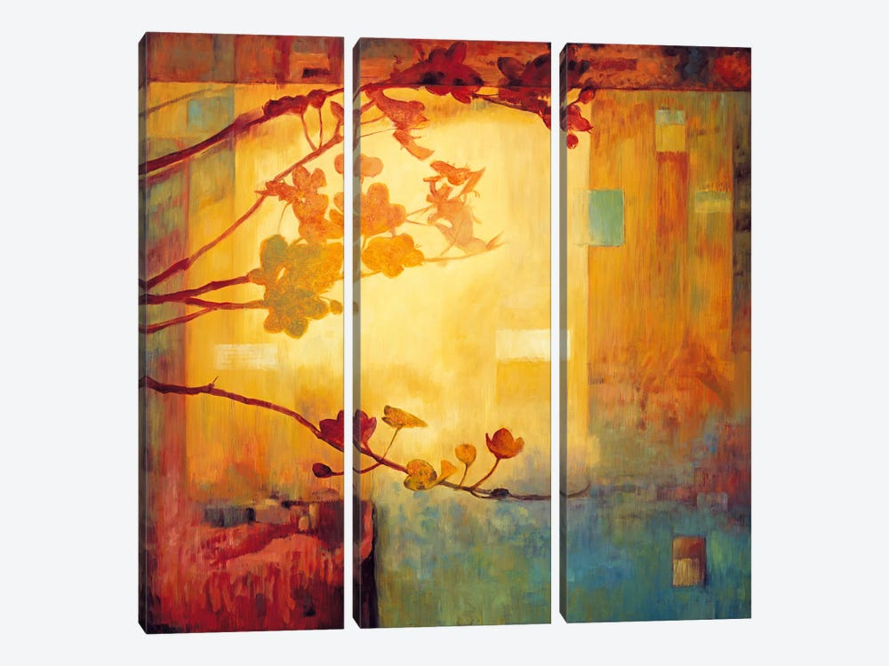 Renewal I by Erin Lange 3-piece Canvas Wall Art
