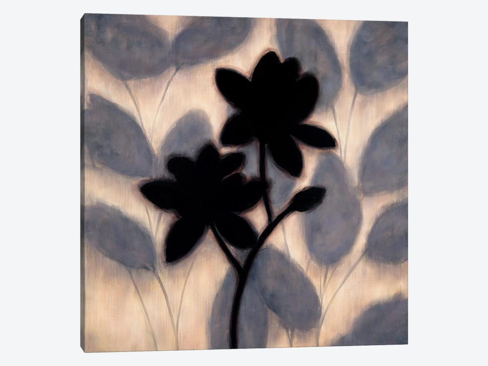 Blossom Silhouette II by Erin Lange 1-piece Canvas Art