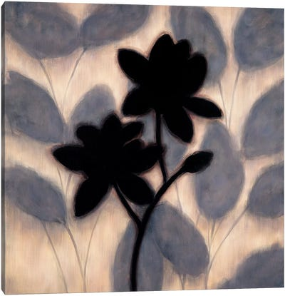 Blossom Silhouette II Canvas Art Print