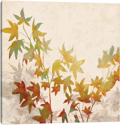 Turning Leaves I Canvas Art Print