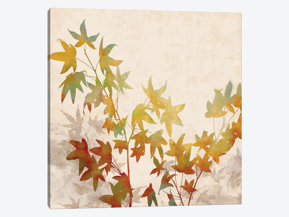 Turning Leaves I by Erin Lange 1-piece Canvas Artwork