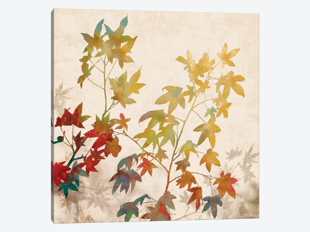 Turning Leaves II by Erin Lange 1-piece Canvas Print