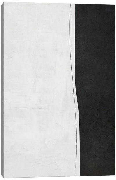 B&W Minimalist I Canvas Art Print