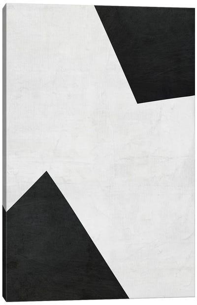 B&W Minimalist III Canvas Art Print